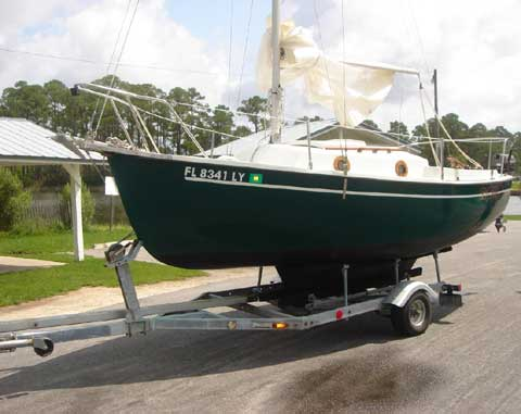 Compac 19 II, 1987 sailboat