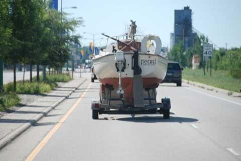 ComPac 23, 1984 sailboat