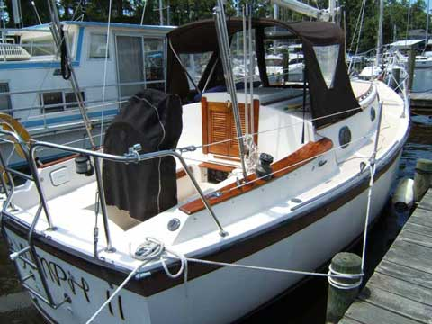 Com-Pac 27, 1986 sailboat