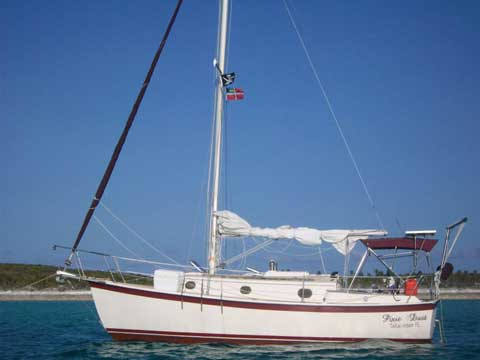Hutchins Com-pac 27/2, 1988 sailboat