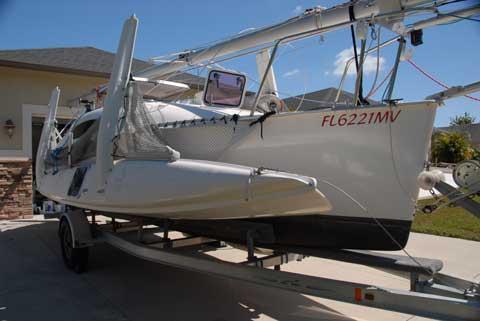 Corsair 24 MkII, 2005 sailboat