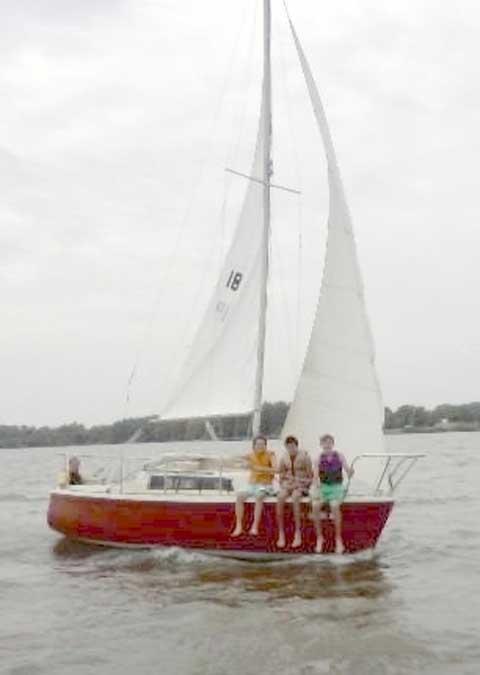 Dolphin 22, 1980, sailboat