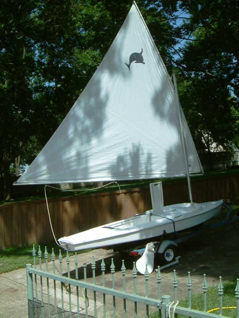 Dolphin Senior, early 70s sailboat