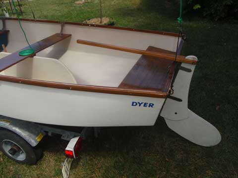 Dyer Dhow Centerboard Sailing Dinghy, 1976 sailboat