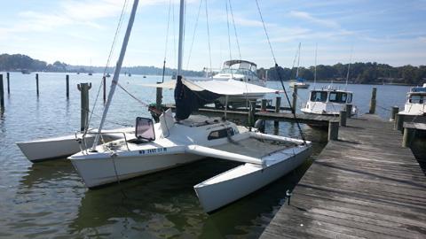 Elan RS 7.7 Swing-wing Trimaran, 2001 sailboat