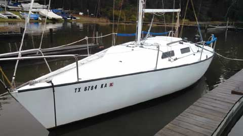 Evelyn 25, 1986 sailboat