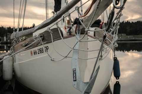Falmouth Cutter 22, 1985 sailboat