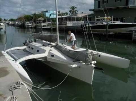 Farrier F9AXR, sailboat