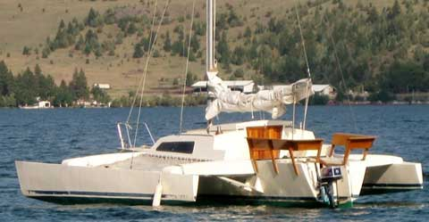 Farrier TrailerTri 720, 1990 sailboat
