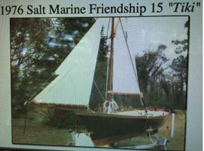 Salt Marine Friendship sloop, 1976 sailboat