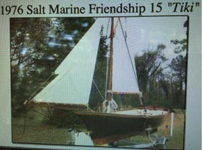 Salt Marine Friendship sloop, 1976 sailboat