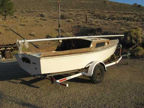 Glen-L Sailboat 17', 1971 sailboat