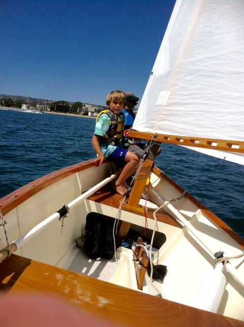 Goat Island Skiff, 15.5 ft., 2014 sailboat