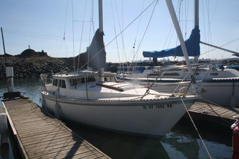 Gulf 29 pilothouse, 1989 sailboat