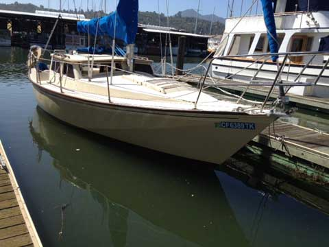 Gulf 29 Motor Sailer, 1982, San Francisco Bay, sailboat for sale