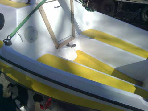 Melen Marine Guppy, 13 ft., 1975 sailboat