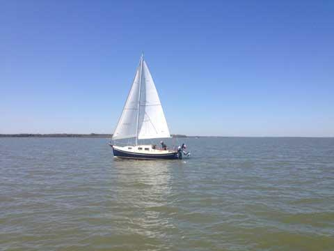 Halman 21, 1988 sailboat