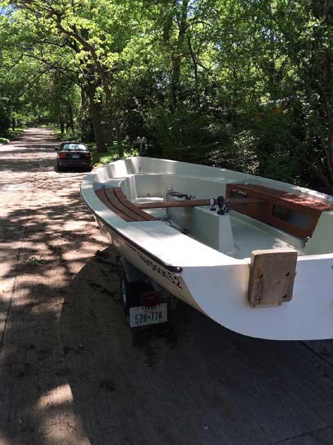 Harpoon 5.2 sailboat