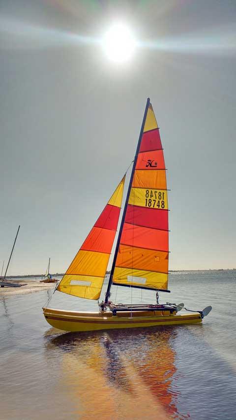 Hobie 16 Catamaran, 1975 sailboat