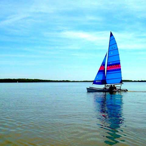 Hobie 18, 1984 sailboat