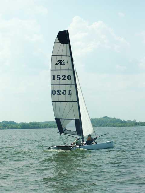 Hobie Tiger catamaran, 2004, 18' sailboat