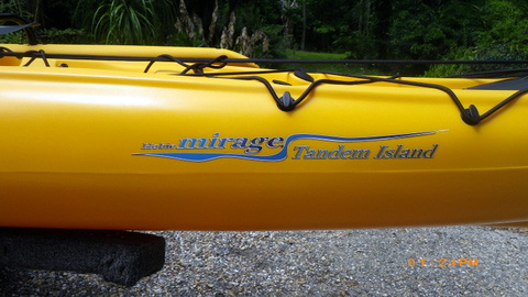 Hobie Adventure Island Tandem, 2010 sailboat