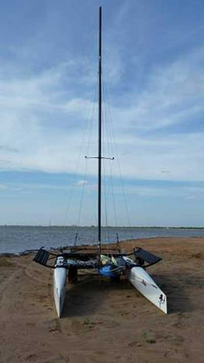 Hobie FX One catamaran, 2004 sailboat