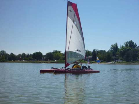 Hobie Mirage Tandem Island, 2011 sailboat