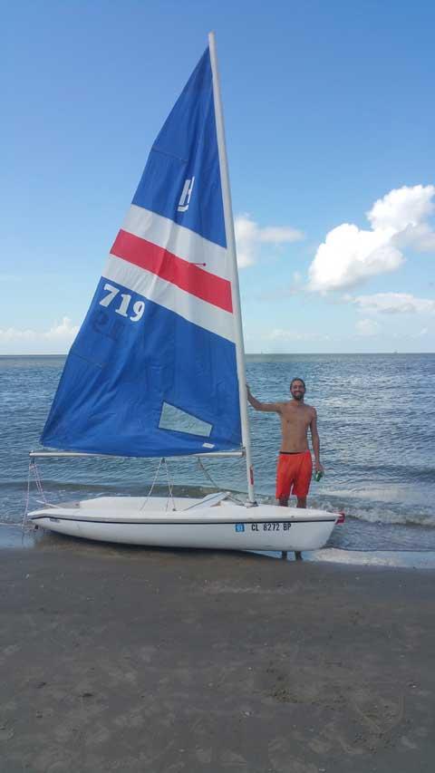 Hobie Holder 12, 1983, Houston, (Meyerland), Texas, sailboat for