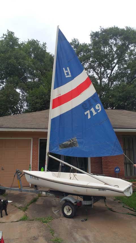 Hobie Holder 12, 1983, Houston, (Meyerland), Texas, sailboat