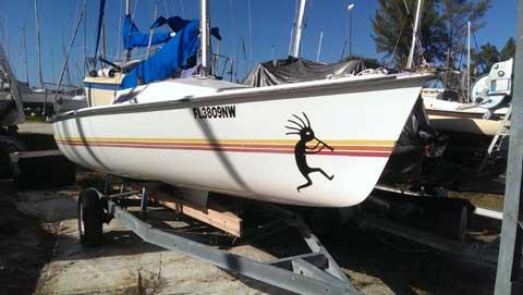 Hobie Holder 20 sailboat