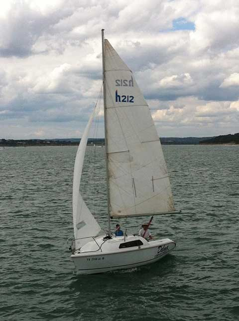 Hunter 212, 2000 sailboat
