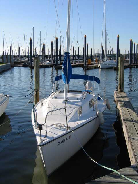 Hunter 23, 1985 sailboat