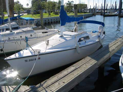 Hunter 23 1985 League City Texas Sailboat For Sale