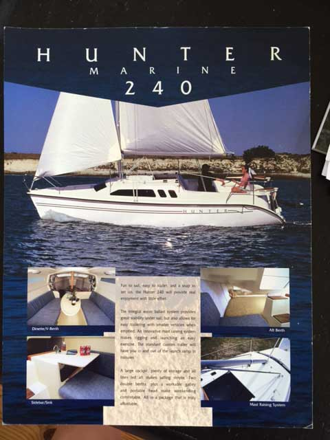 Hunter 240, 2003 sailboat
