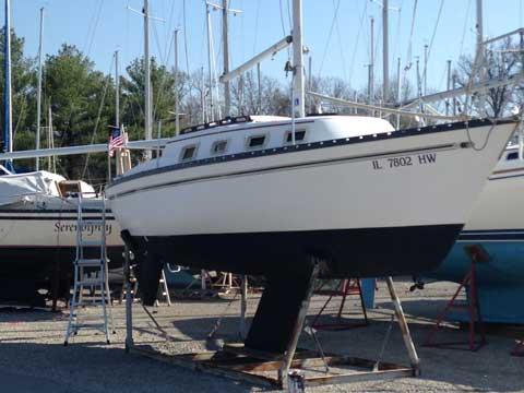 Hunter 25, 1982 sailboat