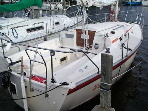 Hunter 25 5 1984 Baltimore Maryland Sailboat For Sale