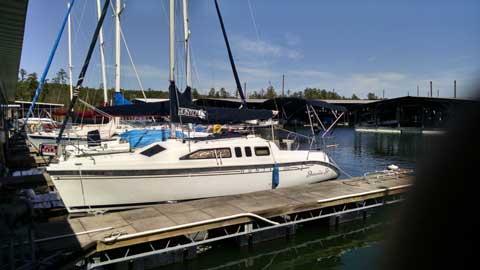 Hunter H260, 1999 sailboat
