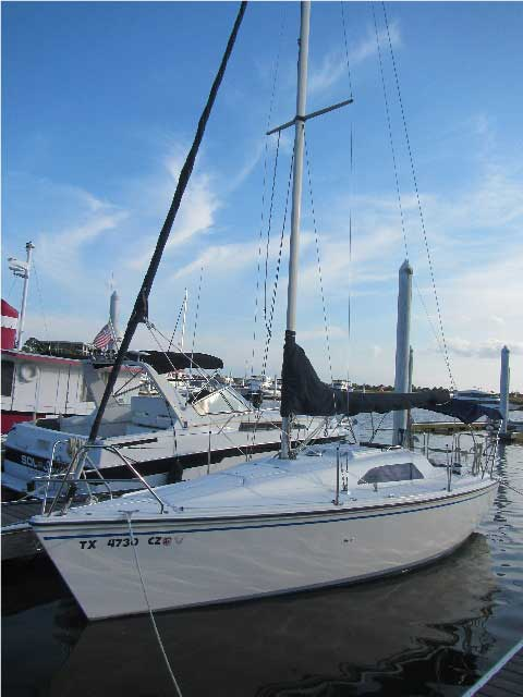 Hunter 26 5  1988  Kemah  Texas  Sailboat For Sale From
