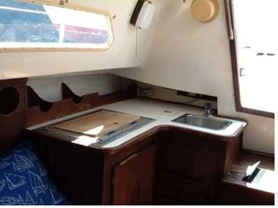 Hunter 27 1979 sailboat