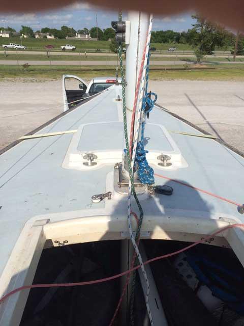 IC-24, 2005 sailboat