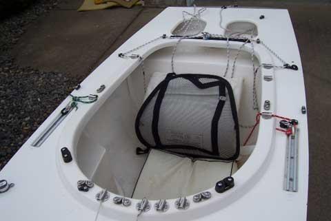 Illusion Class Mini Yacht, 12 ft., 1985 sailboat
