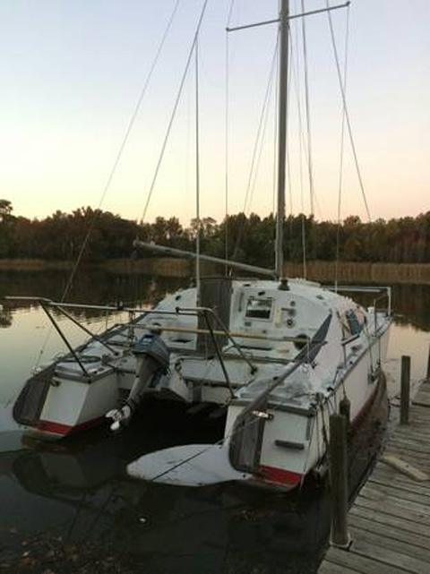 Iroquois 30 Catamaran, 1970 sailboat