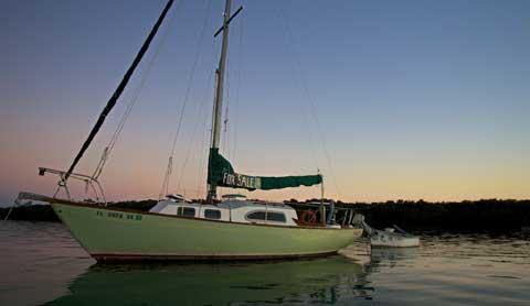 Irwin 27, 1967 sailboat