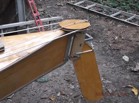 Kayak 4-22 sailboat