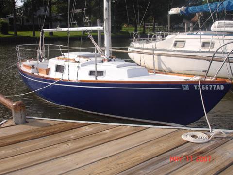 Kenner Kittiwake, 1972 sailboat