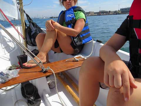 Kolibri/Koralle Jr, 12ft., 1970s sailboat