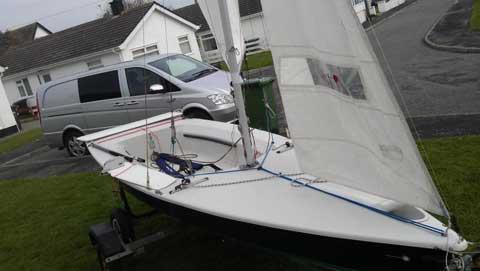 Laser II Regatta, 2000 sailboat