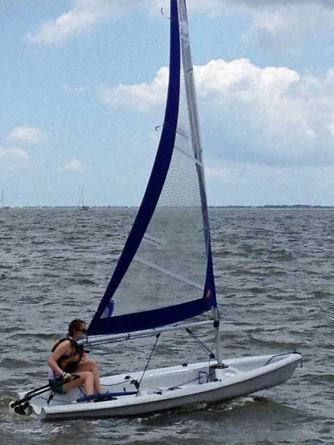 Laser Pico, 2000, Houston, Texas, sailboat for sale from
