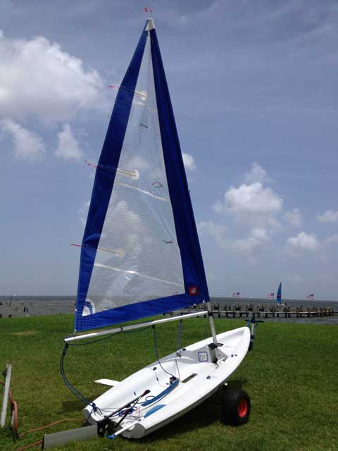 Sailboat Trailer For Sale >> Laser Pico, 2000, Houston, Texas, sailboat for sale from ...